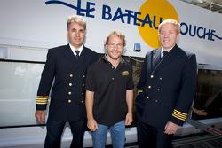 Pre-event press conference: Jacques Villeneuve with the boat captains
