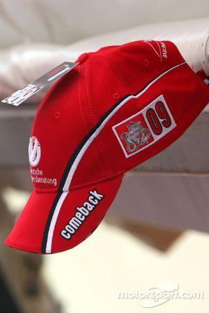 Kappe zum Comeback von Michael Schumacher
