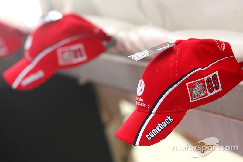 Gorra del regreso de Michael Schumacher