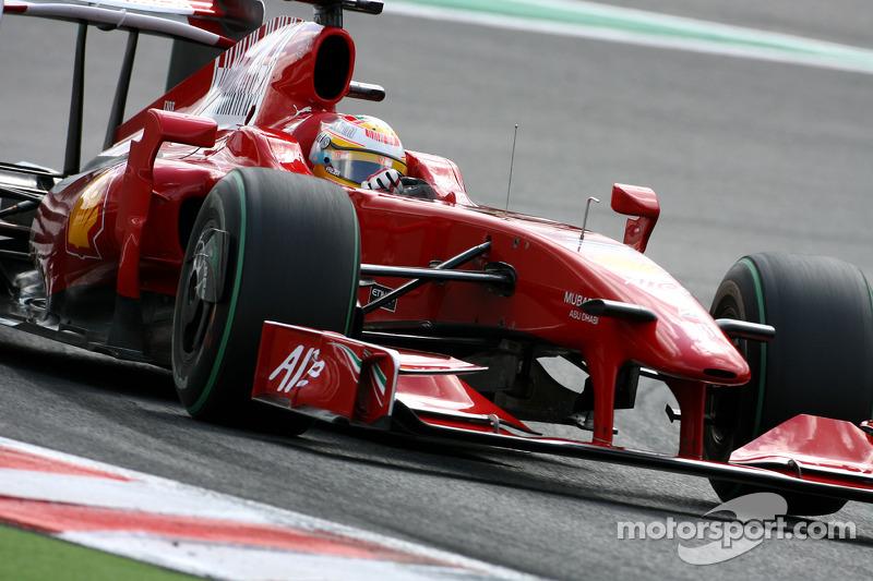 2009 год. Лука Бадоер. 2 гонки за Ferrari