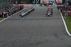 Acción previa a la carrera