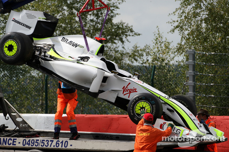 Jenson Button - 7 abandonos en la primera vuelta