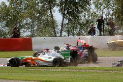 Adrian Sutil, Force India F1 Team, Lewis Hamilton, McLaren Mercedes, Jaime Alguersuari, Scuderia Tor