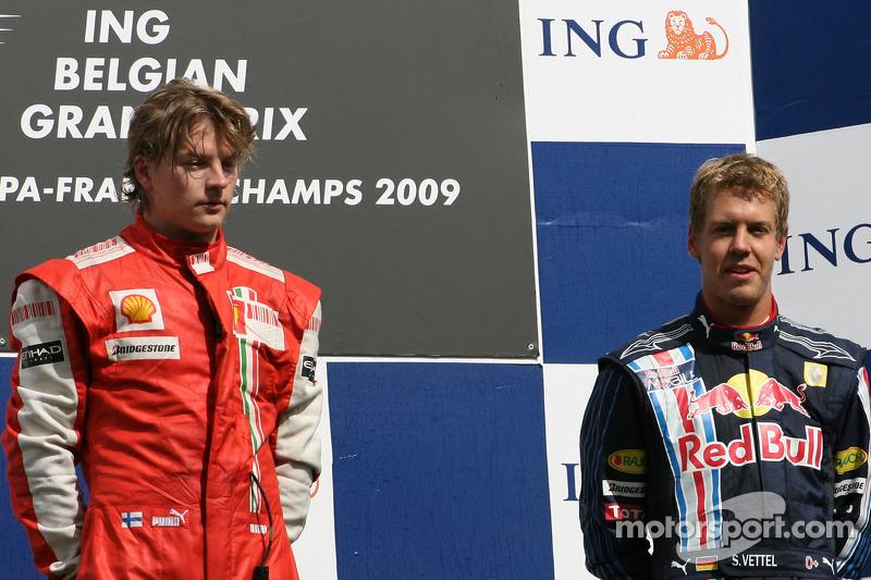 Grand Prix von Belgien 2009 in Spa: Sieger