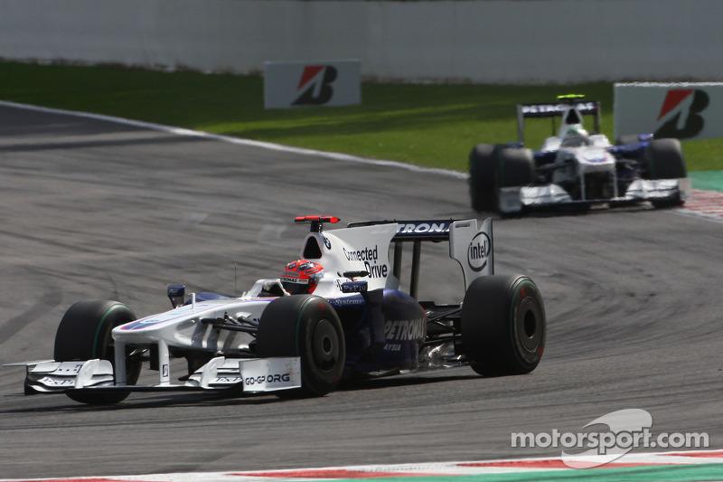 Неплохую гонку провела BMW Sauber – подиум взять не удалось, но четвертое и пятое места Кубицы и Хайдфельда тоже можно считать удовлетворительным результатом