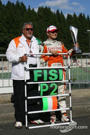 Vijay Mallya Force India F1 et Giancarlo Fisichella, Force India F1 Team