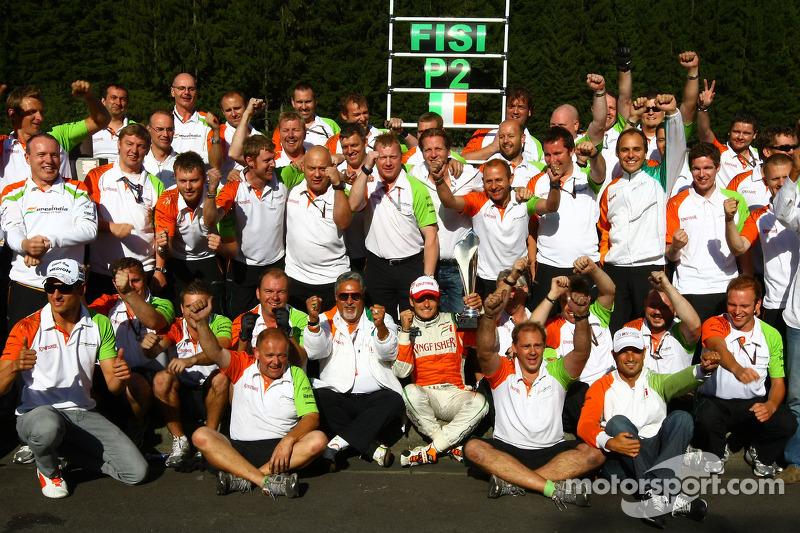 Для Force India же все только начиналось. Однако следующий подиум индийский коллектив завоюет лишь спустя четыре с половиной года в Бахрейне