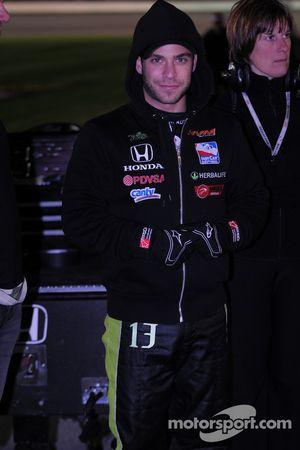Ernesto Viso, HVM Racing exiting pitlane