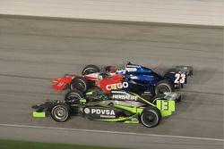 Milka Duno, Dreyer & Reinbold Racing and Ernesto Viso, HVM Racing