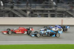 Oriol Servia, Newman/Haas/Lanigan; Tomas Scheckter, Dreyer & Reinbold Racing; and Raphael Matos, Luz