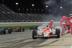 Ryan Briscoe, Team Penske leaves the pits