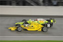 Dario Franchitti, Target Chip Ganassi Racing and Ed Carpenter, Vision Racing