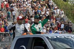Parade des pilotes: Victor Gonzalez Jr. Et Brett Rowe