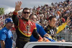 Parade des pilotes: Max Papis et Erik Darnell