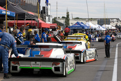 #58 Brumos Racing Porsche Riley: David Donohue, Darren Law heads to track for qualifying