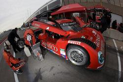 GAINSCO/ Bob Stallings Racing team members at work