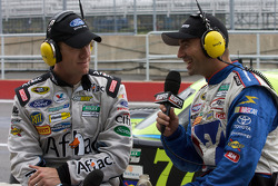 Carl Edwards and Marcos Ambrose speak live on ESPN