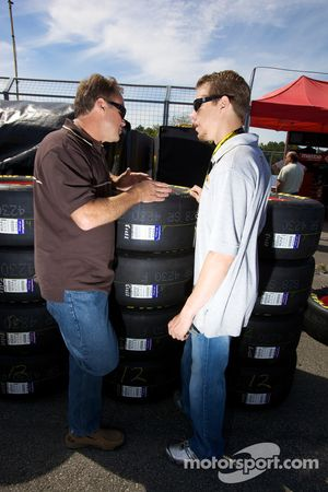 Mike Wallace and Brad Keselowski