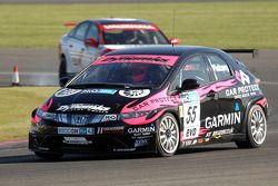 Dave Pinkney leads Fabrizio Giovanardi