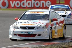 Martin Johnson leads Jonny Adam