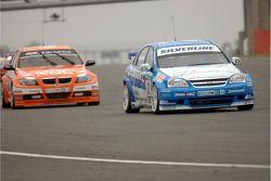 Mat Jackson leads Colin Turkington
