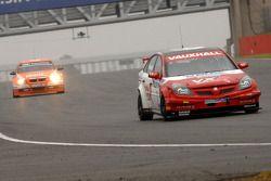 Fabrizio Giovanardi leads Colin Turkington