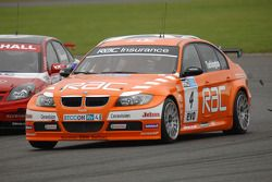 Colin Turkington leads Jonny Adam and Fabrizio Giovanardi