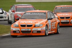 Colin Turkington leads Fabrizio Giovanardi, Stephen Jelley and Jonny Adam