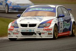 Jonny Adam leads Jason Plato