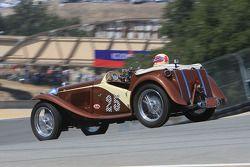 Al Moss, 1948 MG-TC