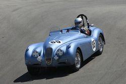 Brian T. Andrews, 1954 Jaguar XK120