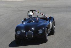 Terry Larson, 1952 Jaguar C-Type