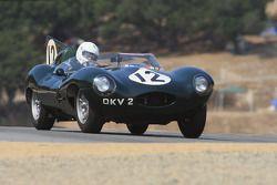 Terry Larson, 1954 Jaguar D-Type