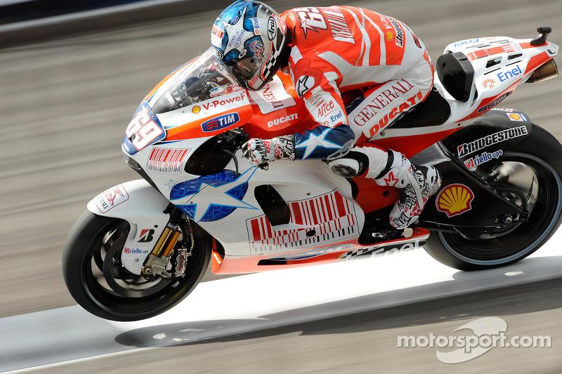 Ducati - Nicky Hayden - GP de Indianápolis 2009