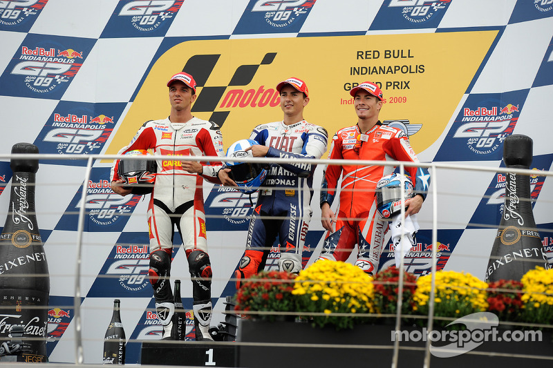 2009: First podium for Ducati at Indianapolis