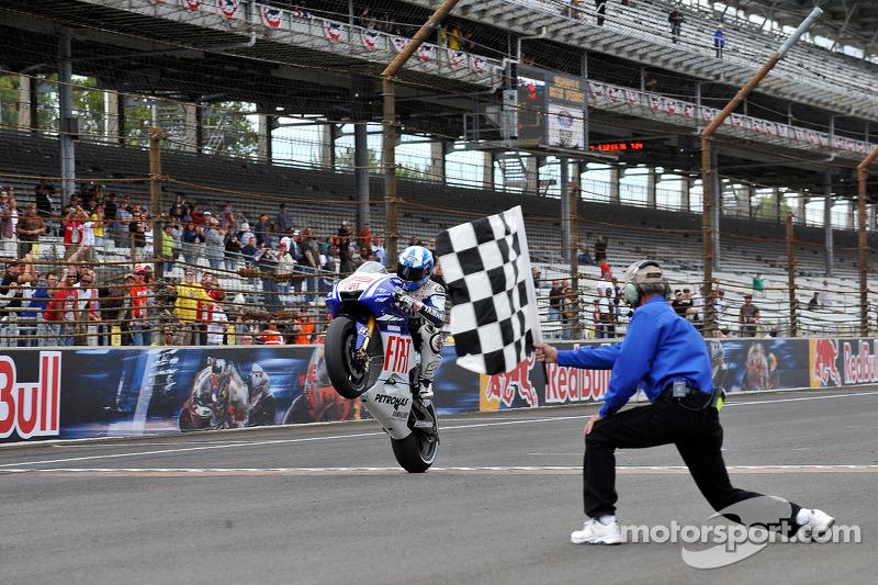 4º- GP de Indianápolis 2009, Yamaha