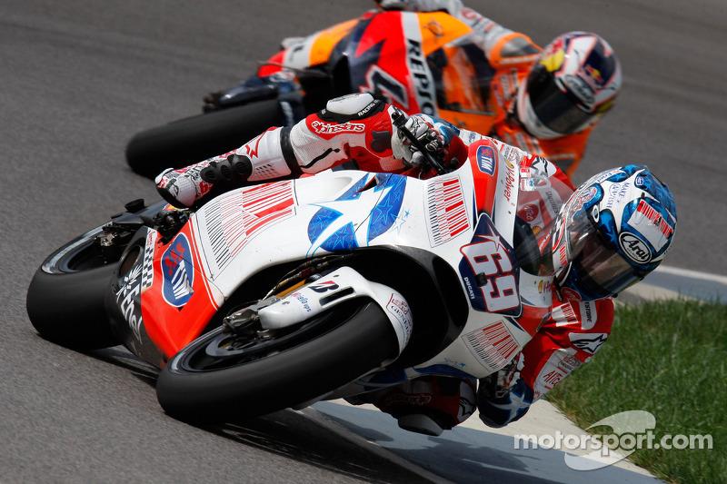 Indianapolis 2009: Eerste podiumplaats met Ducati