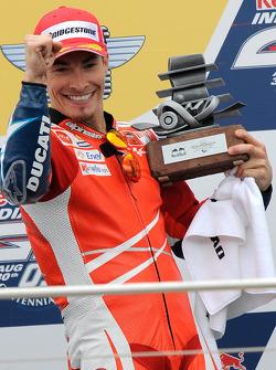 Podium: third place Nicky Hayden, Ducati Marlboro Team