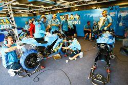 Гараж Rizla Suzuki MotoGP
