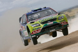 Яри-Матти Латвала и Микка Анттила, BP Ford Abu Dhabi World Rally Team Ford Focus RS WRC08