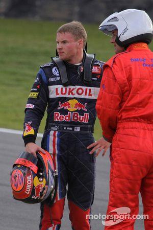 Mika Maki, Signature Dallara F308 Volkswagen crashes