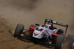 Basil Shaaban, Prema Powerteam Dallara F308 Mercedes crashes