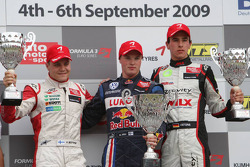 Valtteri Bottas, ART Grand Prix, Dallara F308 Mercedes, Mika Maki, Signature, Dallara F308 Volkswagen, Christian Vietoris, Mücke Motorsport, Dallara F308 Mercedes