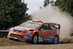 Хеннинг Сольберг и Като Менкеруд, Stobart VK M-Sport Ford Rally Team Ford Focus RS WRC 08