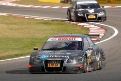 Christian Bakkerud, Kolles TME Audi A4 DTM devant Markus Winkelhock, Audi Sport Team Rosberg Audi A4