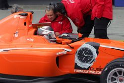 Philipp Eng in the pits