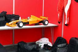 Model car of Philipp Eng Formula Two car