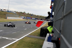 The red flag ends the race early