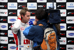 Andy Soucek is interviewed by Eurosport