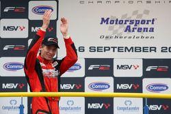 Kazim Vasiliauskas on the podium